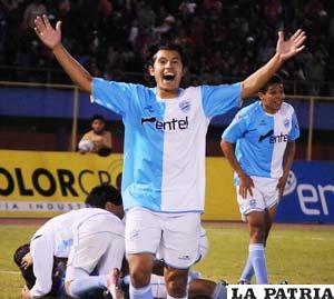 Osvaldo Medina, jugador de Aurora (foto: APG)