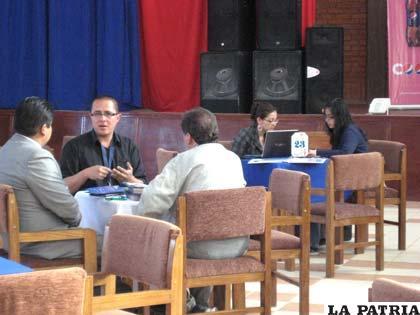 Los empresarios se reunirán en las mesas de trabajo para concretar acuerdos comerciales (foto archivo)