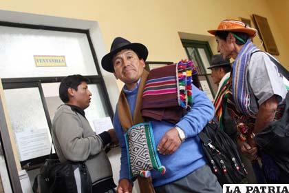 Dirigentes del Conamaq presentan recurso contra papeleta del Censo (APG)