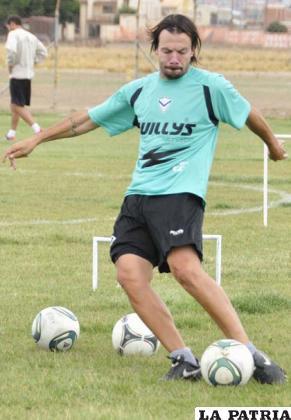 Gonzalo Bonafina, jugador de San José