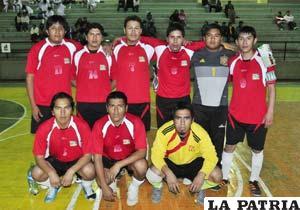 El equipo de Udabol, defensor del título