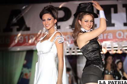 Sasha Medina y Gabriela Saavedra
