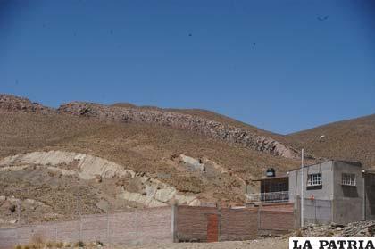 El cerro de la víbora está en peligro de desaparecer