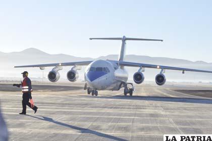 """El 2013 comenzará a funcionar el aeropuerto """"Juan Mendoza"""""""