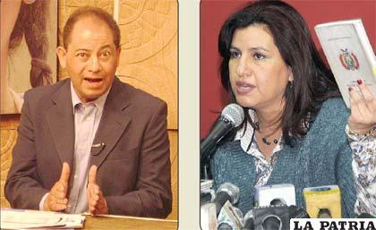 Romero y Delgado mantienen controversia (ABI)