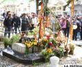 Tumba de Carlos Palenque, visitada en el Día de los Difuntos por sus seguidores