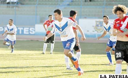 En el partido de ida jugado en Oruro, San José venció por 4-0