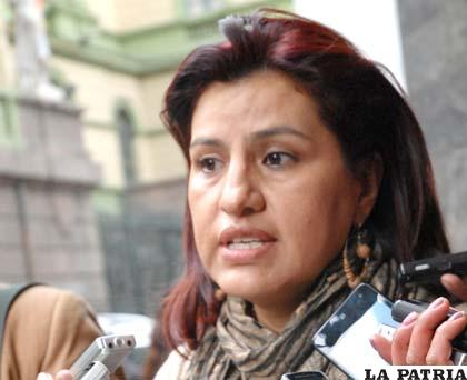 Rebeca Delgado, expresidenta de la Cámara de Diputados