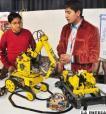 Dos robots fabricados en Oruro  son útiles para la prospección minera