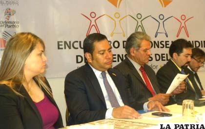 La reunión del Consejo Andino de Defensores y Defensoras del Pueblo