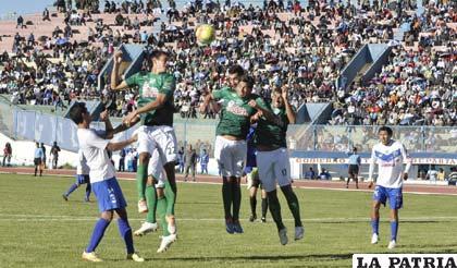 En el partido de ida venció San José por 4 a 1 el 14/09/2014