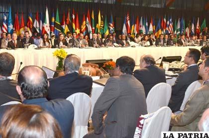 Reunión de Ministros del G77+China de Hidrocarburos en Tarija