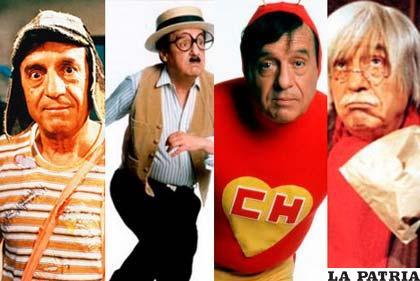 Los diferentes personajes que encarnó Chespirito