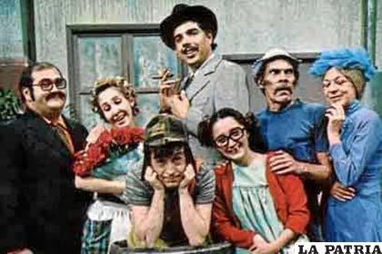"Personajes de la ""Bonita Vecindad"""