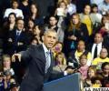 El presidente de Estados Unidos, Barack Obama, realiza un discurso sobre política migratoria