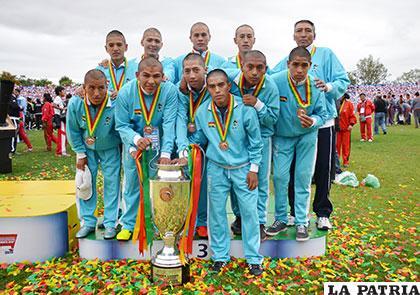 El equipo del colegio Bolívar logró la medalla de bronce