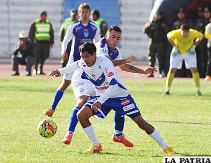 Sport Boys ganó en el partido de ida en Oruro (1-0) el 23/08/2015