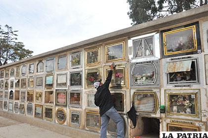 Cementerio General solo tiene 91 nichos libres