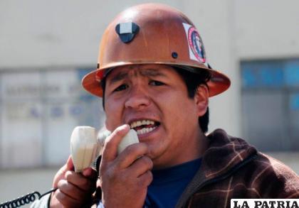 Juan Carlos Trujillo, ejecutivo de la COB /ANF