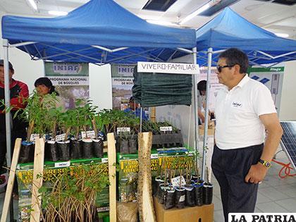 Programa Bosques mostró algunos de sus trabajos en concurso de innovación