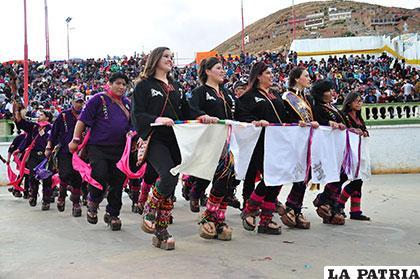 Simpatía y belleza en los Phujllay Oruro