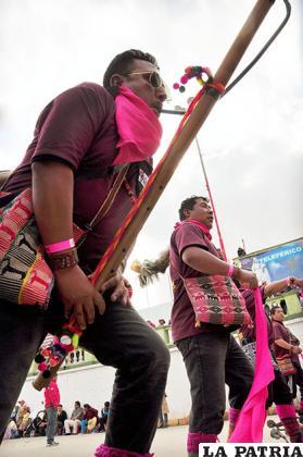 Imponente participación de los Phujllay Oruro