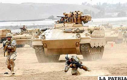 Ejercicios militares de Chile en frontera, desatan polémica en Bolivia y Perú /ANF