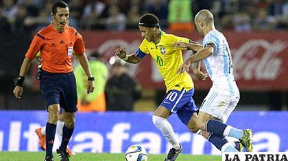 Neymar no estuvo en una noche acertada /lavozdelinterior.com