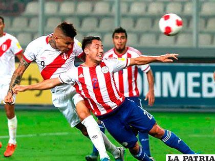 Paraguay llega a este partido tras la derrota ante Perú (1-0) /elpopular.pe