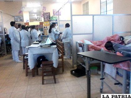 Hospital General tiene ocupadas el 92% de sus camas de internación