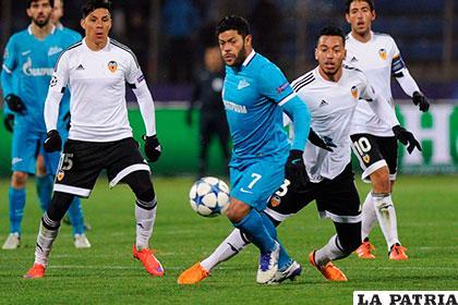 El Zenit complica la situación del Valencia venciendo 2-0 /as.com