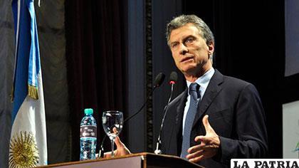 El presidente electo de Argentina, Mauricio Macri /uchile.cl