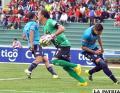 Bolívar venció en la ida en Sucre (3-2) el 23/08/2015