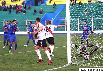 Nacional Potosí venció en la ida 3-1 en la Villa Imperial el 25/09/2016 /APG