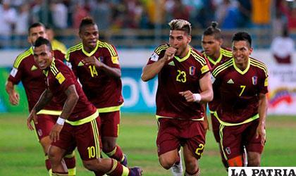 La selección venezolana ganó por primera vez por goleada en eliminatorias /larepublica.pe