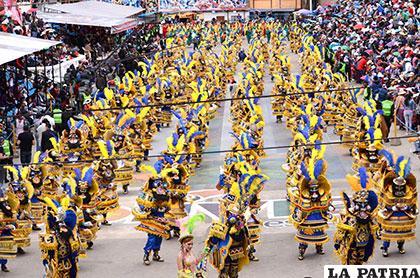 La Morenada Central Oruro, mostrará la grandeza del Carnaval de Oruro en México