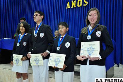 Ganadores de la medalla de oro en la Olimpiada Química