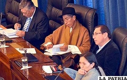 Gualberto Cusi, en el juicio de responsabilidades /ANF/Archivo