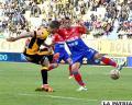 En la ida venció The Strongest 2-0 en La Paz el 24/09/2016 /APG