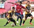 The Strongest venció (0-3) en la ida en Cochabamba el 11/09/2016 /APG