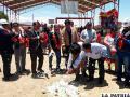Inauguran obras de construcción de la Unidad Educativa Vichuloma /GAMO