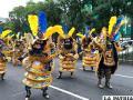 La Morenada Central brilló en el incipiente carnaval de Villa Zapata en México