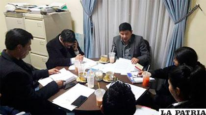 Comisión prepara diferentes casos