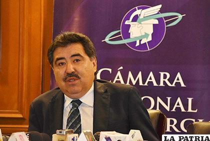 Marco Antonio Salinas, presidente de la CNC /APG
