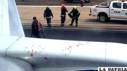 Nave de BoA tuvo una emergencia llegando al aeropuerto /ERBOL