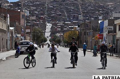Faltan rutas especiales para los ciclistas