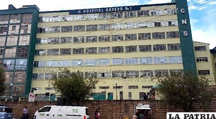 Se detectaron irregularidades en el Hospital Obrero /ANF