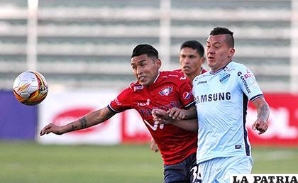 En la ida empataron 1-1 en La Paz el 13/08/2017 /APG