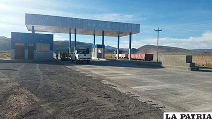 El retén permitirá mejorar el control en el tramo Turco-Cosapa /ABC
