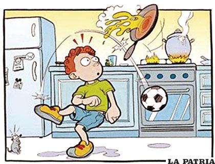 C mo prevenir accidentes en el hogar - Trabajo de ayudante de cocina para colegios ...